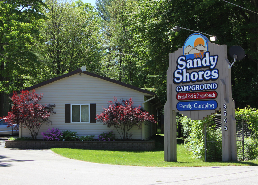 Welcome to Sandy Shores Campground - Located in Silver Lake