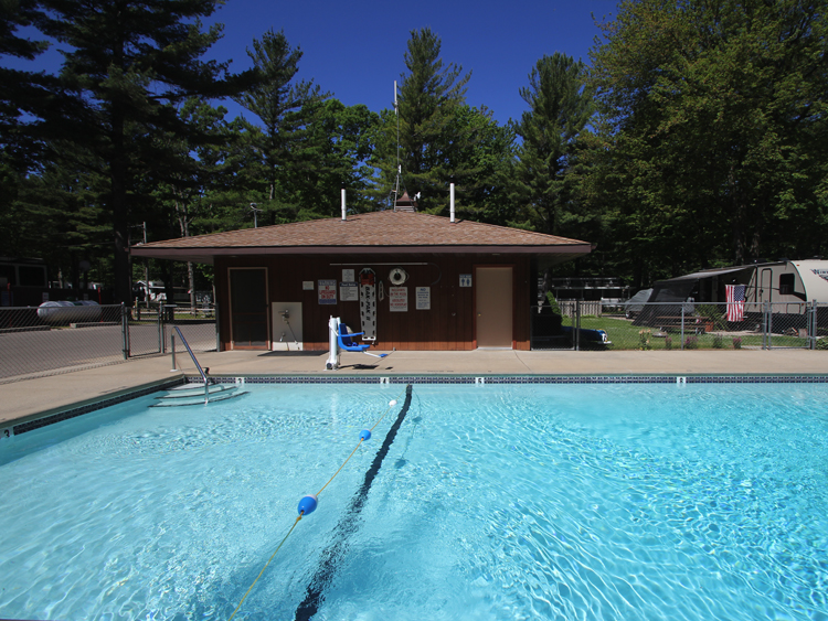 Take a dip in our outdoor heated pool. Handicap accessible with a lift.